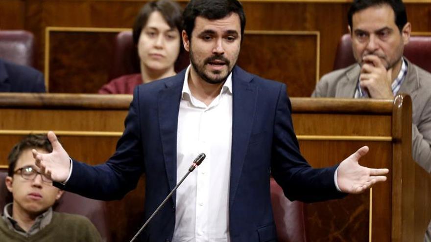 Garzón: Si Rajoy hubiera dimitido antes, España no pasaría esta vergüenza