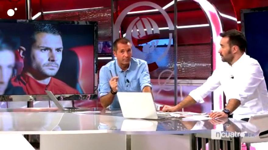 Manu Carreño y Juanma Castaño en Deportes cuatro