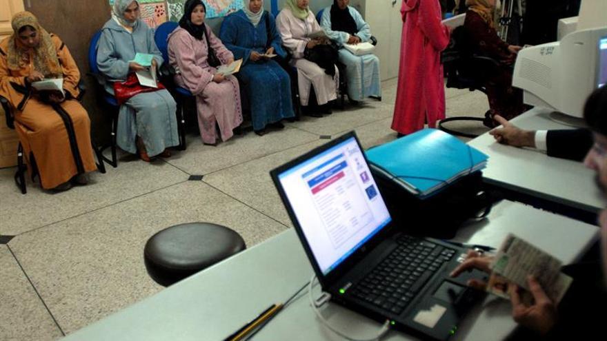 Más de 2.000 temporeros marroquíes contratados en España en 2016