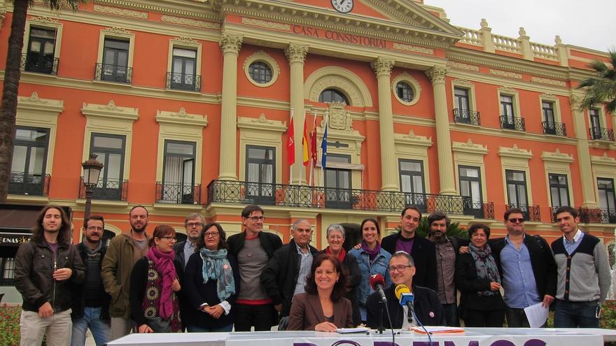 Toni Carrasco encabeza la primera candidatura de Podemos en Murcia con una apuesta por la transparencia y participación