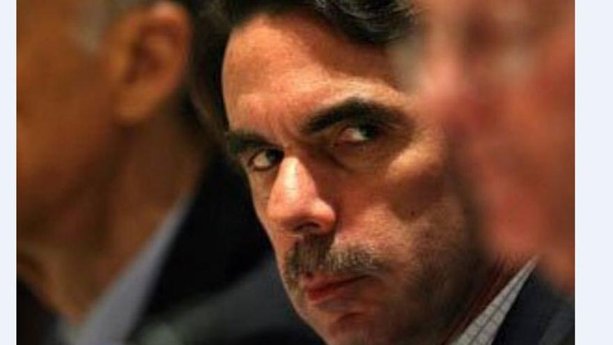 José María Aznar en una foto de archivo