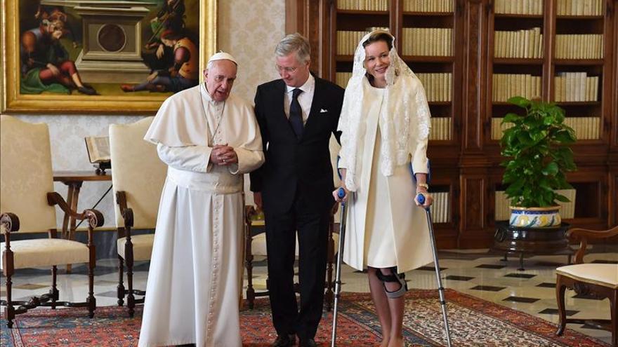 El Papa y los reyes de Bélgica hablan sobre la  inmigración y el futuro de Europa