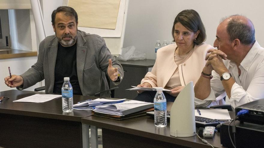 El concejal Javier Mateo en la II Conferencia Internacional de Política Social