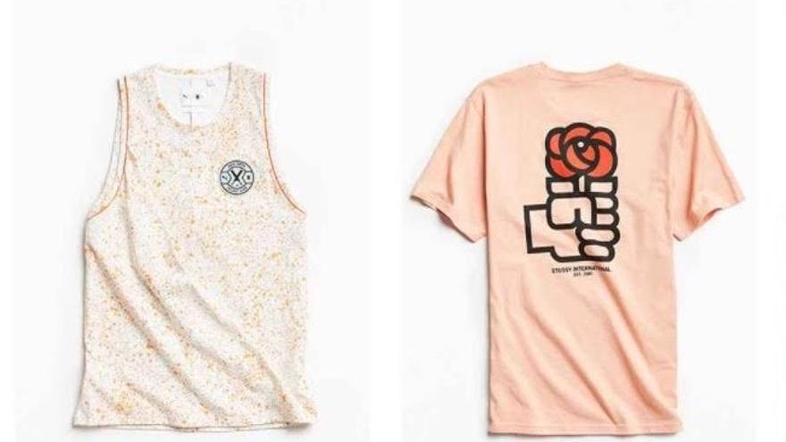 La camiseta del PSOE, en el catálogo de la marca estadounidense
