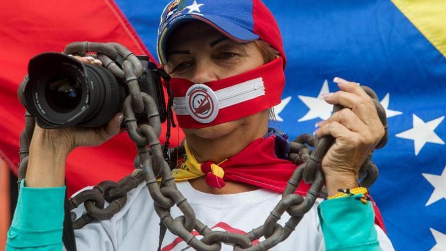 Venezuela utiliza la censura y el hostigamiento para controlar a la prensa