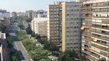 La ampliación del Metrocentro de Sevilla provoca una manifestación en defensa de los árboles