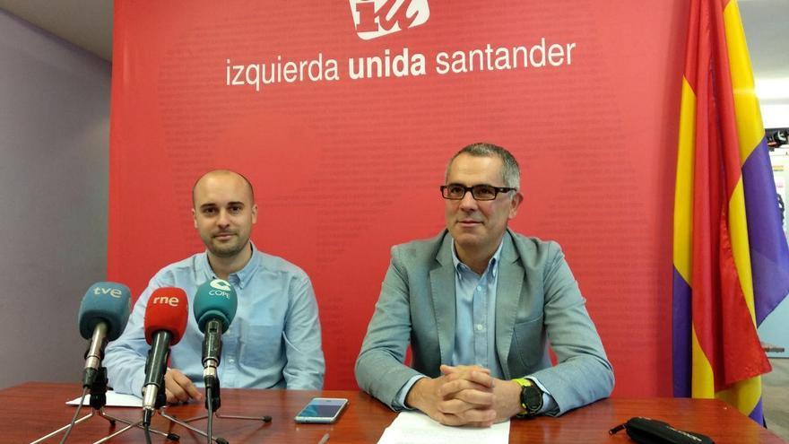Israel Ruiz Salmón y Miguel Saro en rueda de prensa. | R.A.