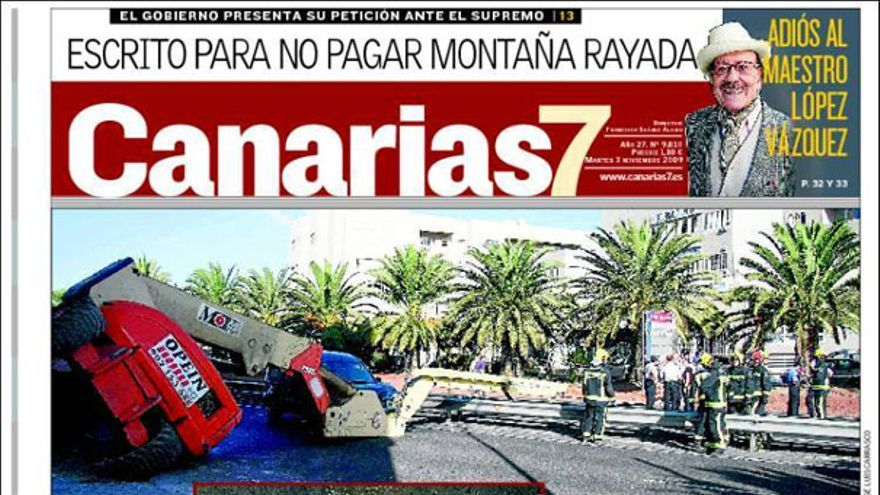 De las portadas del día (3/11/2009) #4