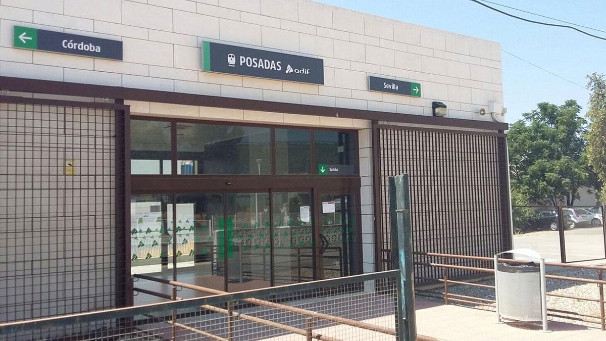 Estación de Posadas.
