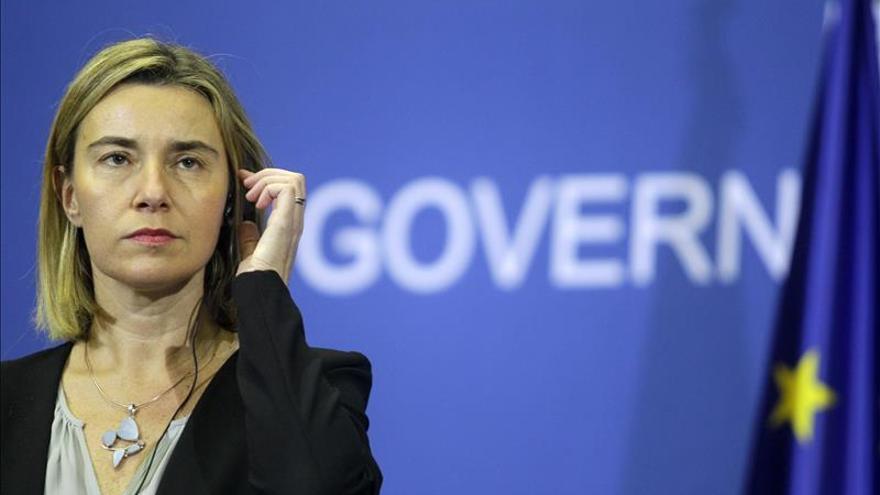 La UE dice que Venezuela ha votado por el cambio y pide diálogo a todos los políticos