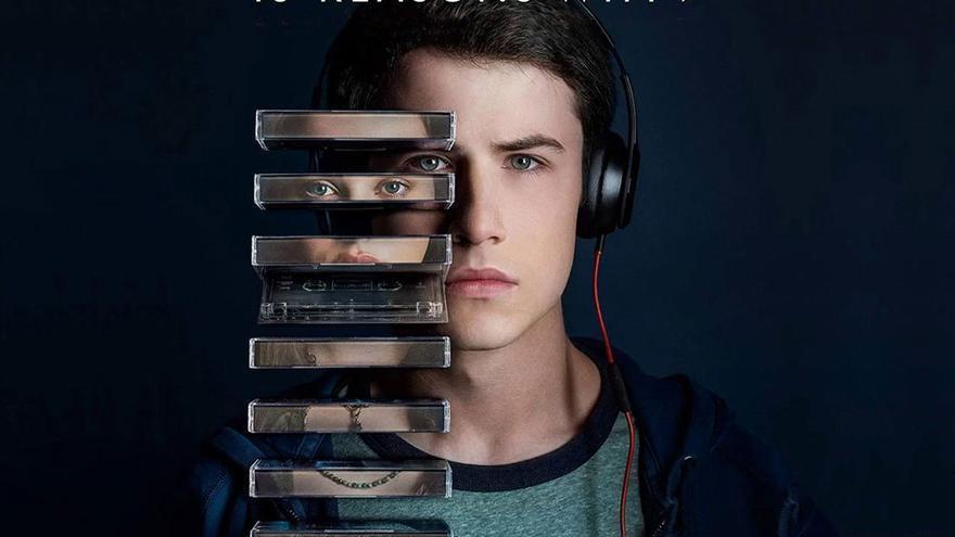 Cartel promocional de la serie 'Por 13 razones'