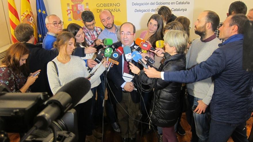 """Iceta ve """"cambio de actitud"""" del Gobierno con Cataluña pero le pide hechos concretos"""