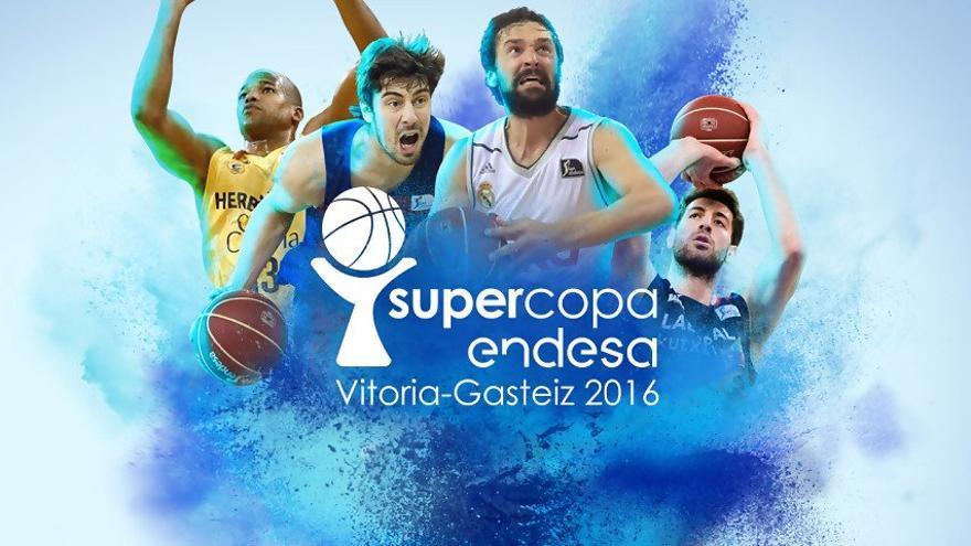 Cartel de la Supercopa Endesa.
