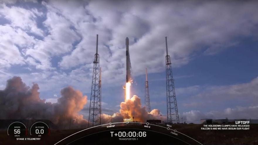 Lanzada al espacio con éxito DRAGO, la primera cámara infrarroja de IACTEC