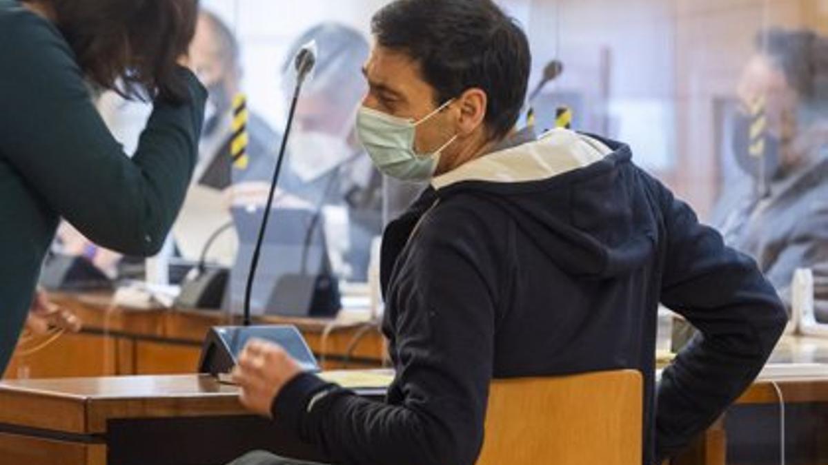 Lino Rodríguez, durante el juicio enmarcado en la 'Operación Cebada'