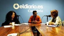 Patricia Manrique y Aurora Otero conversan con Samir durante el programa. | ANDRÉS HERMOSA