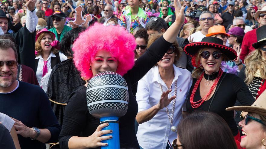 Carnaval de día en Santa Catalina