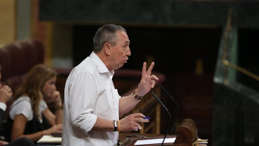 """Baldoví (Compromís) cree que la moción de censura es """"legítima"""" pero debe liderarla el PSOE"""