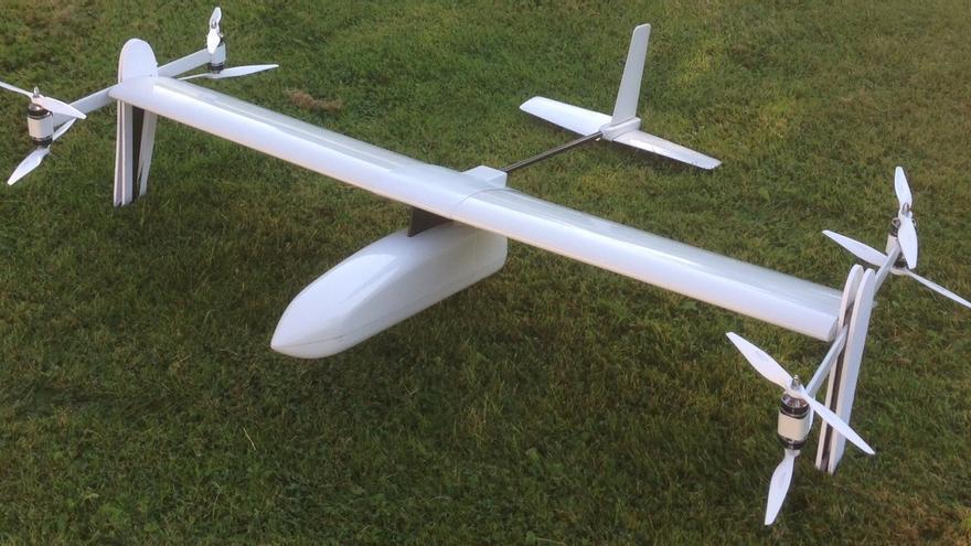 Uno de los vehículos de FuVeX. El objetivo es construir modelos escalables hasta que lleguen a ser tripulados. (Imagen: Cedida por Carlos Matilla)