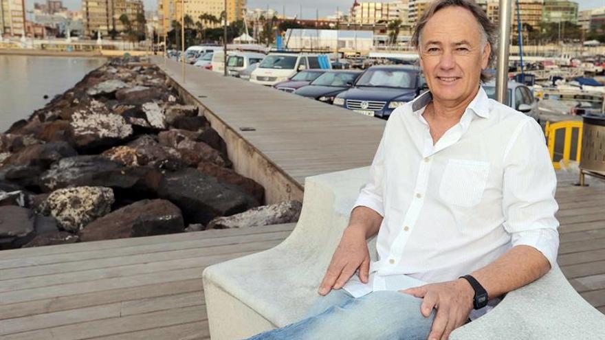 El histórico regatista canario Luis Doreste Blanco. EFE/Elvira Urquijo A.