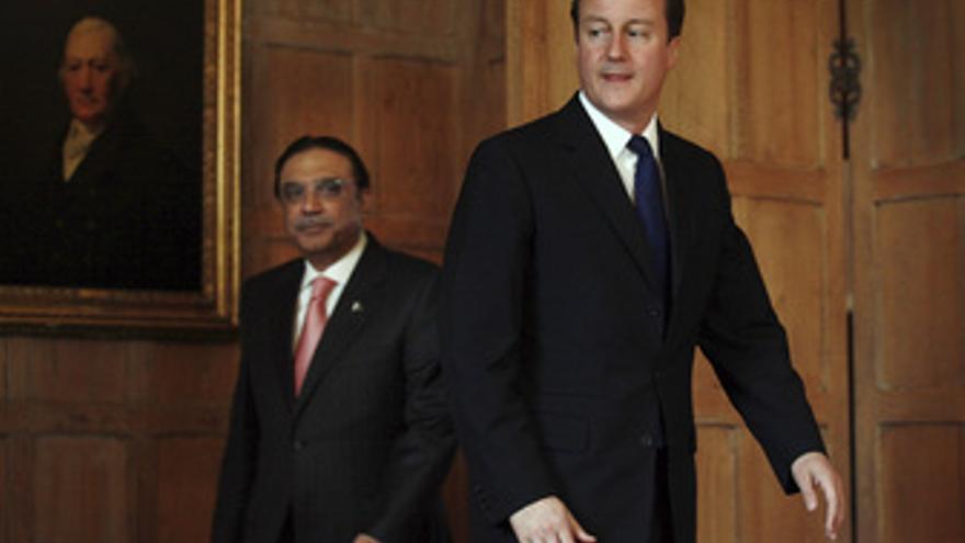 Cameron y Asif Ali Zardari se reúnen en Londres
