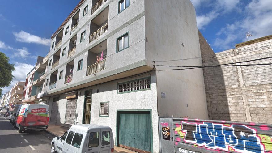 Edificio desalojado en agosto en El Fraile, Arona