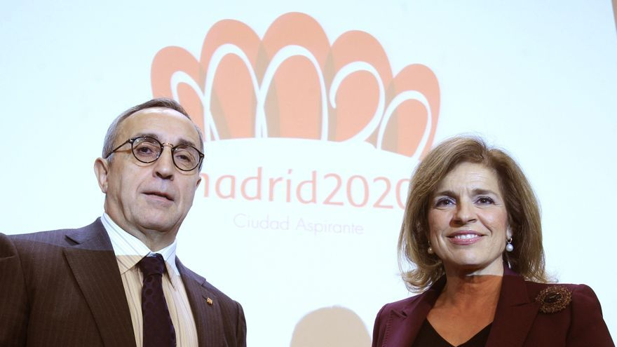 Alejandro Blanco con la alcaldesa de Madrid, Ana Botella / EFE