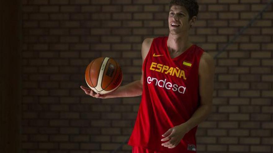 Oriol Paulí con la selección española