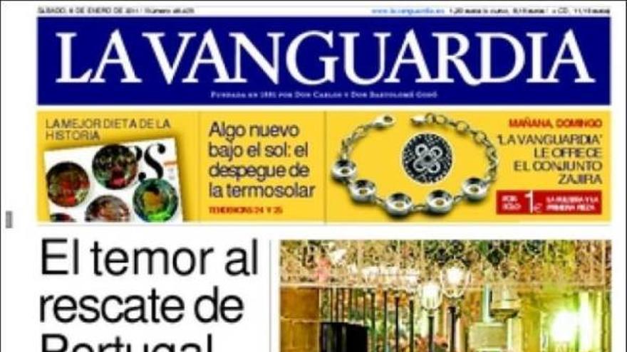 De las portadas del día (08/01/2011) #12