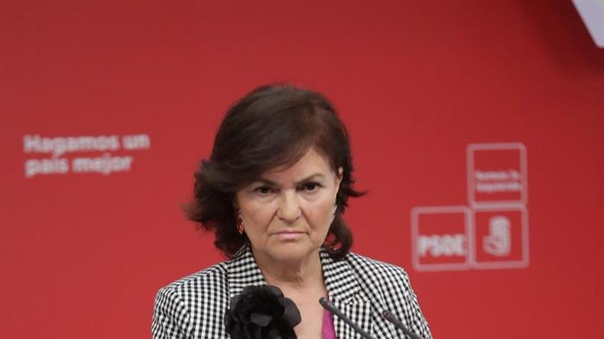 El PSOE replica a UGT y CC. OO. que en España no hay presos políticos
