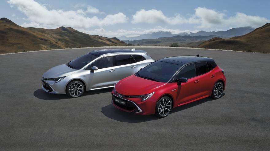 Nueva generación del Toyota Corolla.