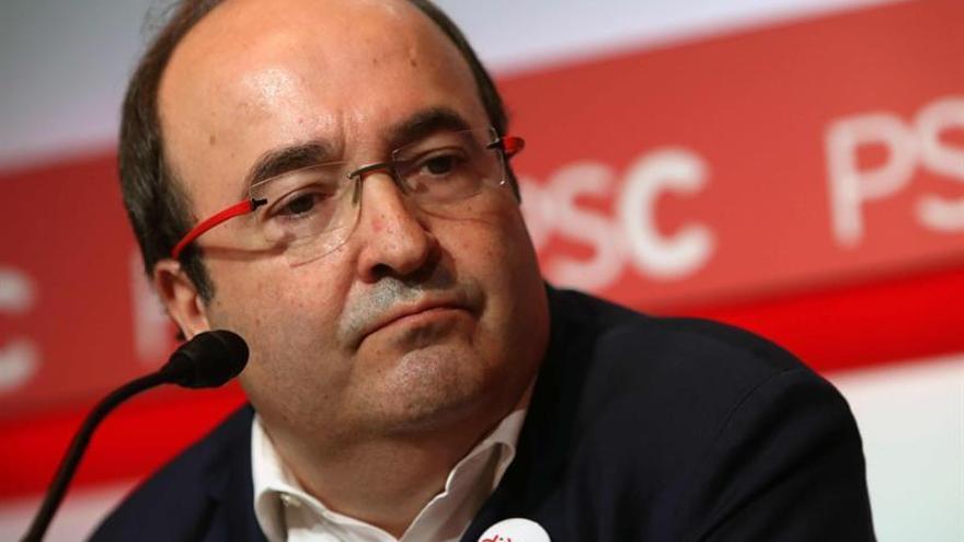 """Iceta niega """"ruptura"""" en PSC y pide diálogo: """"Nadie quiere aplicación de 155"""""""