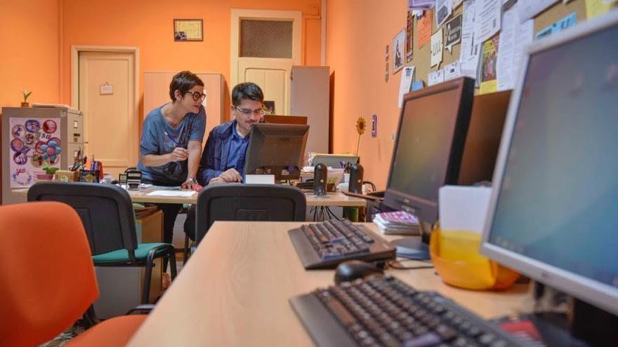 Oficina del Servicio de Juventud del Cabildo de La Palma.