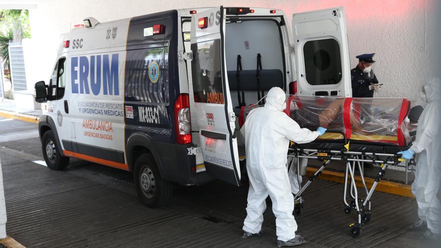 México rebasa los 600.000 casos y 65.000 muertos por la COVID-19