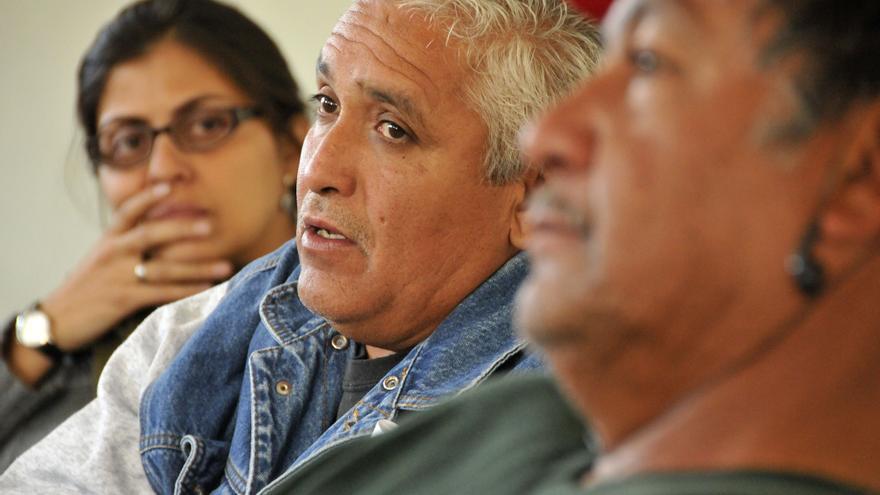 La comunidad de La Sierrita defiende su derecho al territorio frente a una extractiva canadiense / Fotografía: ProDESC