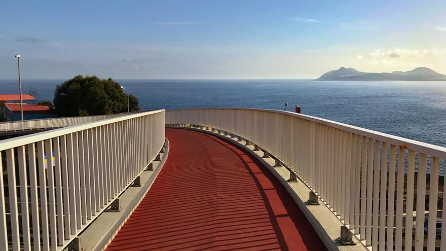 El Cabildo finaliza las obras de reparación de las pasarelas peatonales de Tinoca, Las Remudas, San Isidro y Arucas.