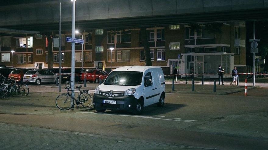 Vehículo encontrado por la policía holandesa