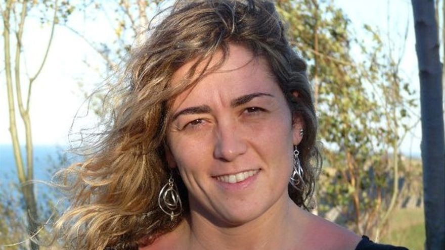 Ainhoa Azurmendi, profesional de la amplia trayectoria de investigación en el ámbito de la educación física y el deporte./ Foto: Emakunde