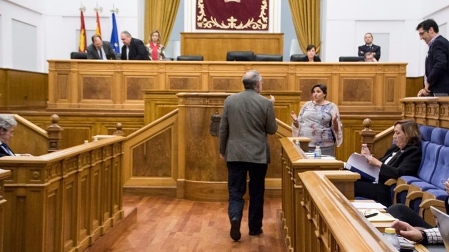 Expulsión del grupo del PSOE en las Cortes de CLM 1