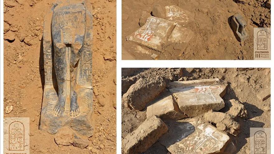 Descubren un recinto religioso de la época de Ramsés II en Luxor