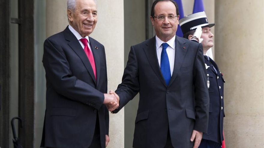 Hollande viaja a Israel con el programa nuclear iraní como trasfondo