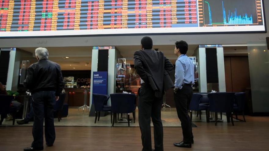 La Bolsa de Sao Paulo abre en bajada ante una posible reforma de las jubilaciones
