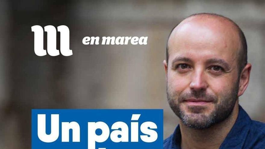 """En Marea promete construir una Galicia """"más justa"""" frente la """"estafa"""" de un """"vendedor de preferentes"""" como Feijóo"""
