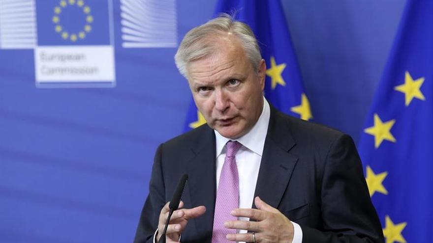 """El ex comisario Olli Rehn cree que el rescate bancario fue """"crucial"""" para España"""