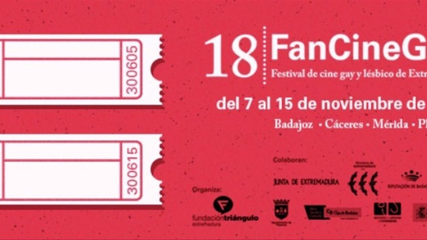 Cartel de FanCineGay / http://www.fundaciontriangulo.org/fancinegay/