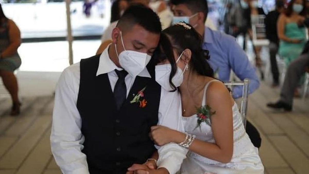 Una boda en pandemia