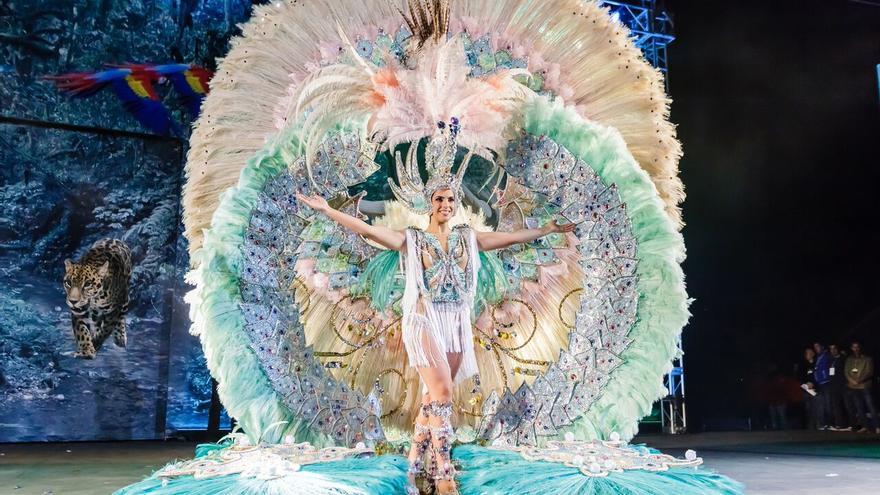 Reina del Carnaval de Los Llanos de Aridane 2018.