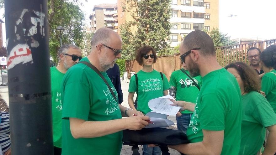 Marea Verde Albacete, petición escrita a la Delegación de Educación provincial