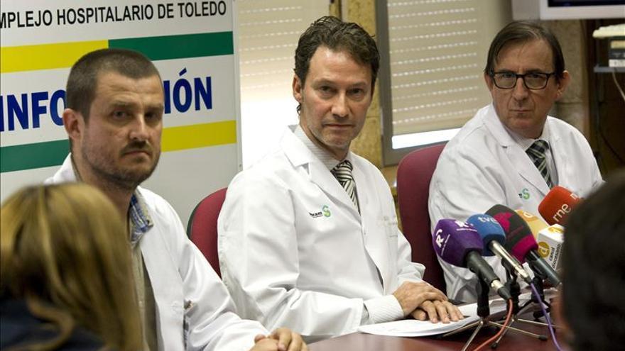 Los pacientes evacuados regresaron al Hospital de Toledo antes de medianoche