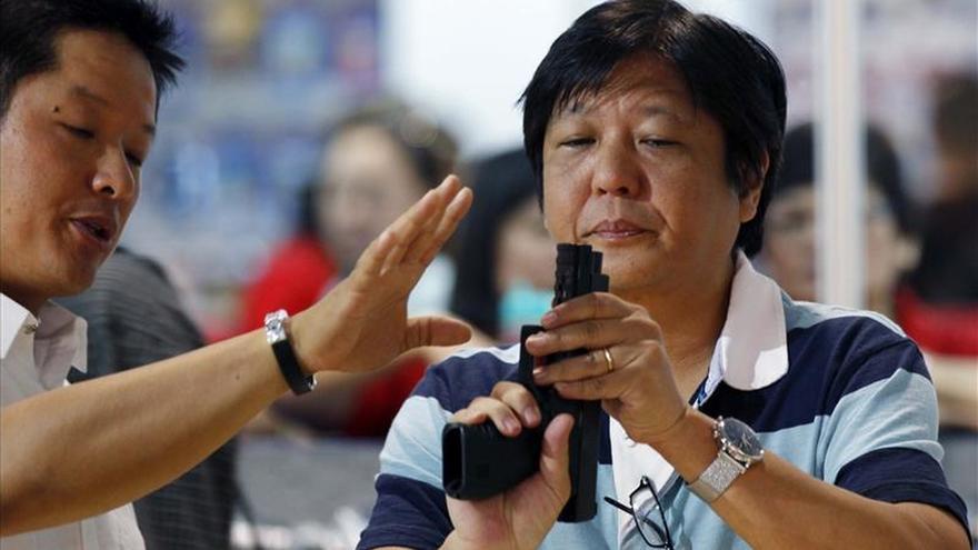 """Ferdinand """"Bongbong"""" Marcos, hijo del dictador, aspira a la vicepresidencia de Filipinas"""